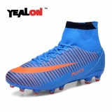 Yealon High Ankle Football Boots New Fg Soccer Shoes Superfly Men Sock Boot Football Zapatos De Futbol Con Tobilleras Size39 46 Intl In Stock