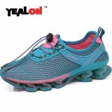 Retail Yealon New Breathable Running Shoes Women Running Blade Shoes Sneakers Women Bounce Summer Outdoor Sport Shoes Training Shoes Intl