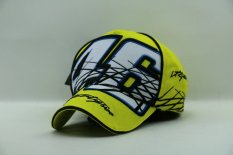 Sale Yellow Moto Gp Motorcycle Driver Rossi 46 Baseball Hat Cap Hiphop Snapback Golf Sunhat Large Size Yellow Intl None Branded