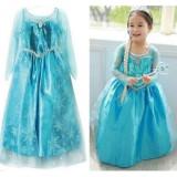 Best Offer Yika Girls Elsa Queen Dress Princess Cosplay Costume Party Fancy Dress 2 8Y Intl
