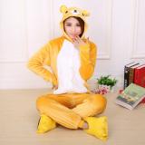 Yika Rilakkuma *d*lt Unisex Pajamas Cosplay Costume Onesie Sleepwear S Xl Yellow Export Cheap