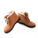 Discount Yingwei Snow Boots Martin Boots Korean Factory Outlets Waterproof Ladies Shoes Khaki Yingwei China