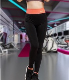 Top 10 Yoga Training Running Pants Fitness Pants High Stretch Slimming Trousers Pants Pants Pants Pants Orange Exr Intl