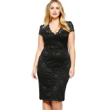 Who Sells The Cheapest Yohanne Women S*xy Plus Size Cocktail Ceremony Dress Lace Sheer Wrap Skirt Black Intl Online