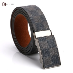 Young men belt leather belt, leisure business cowhide anodontia automatic buckle belts male - intl