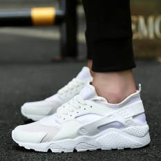 Sale Yozo Men Shoes New Style Running Shoes Net Cloth Outdoor Sports Shoes Lace Up Tide Shoes Men Sneakers White Intl Yozo Original