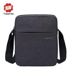 Price Yslmy Tigernu T L5102 Brand Casual Messenger Bag Waterproof Man Shoulder Bag For Women Business Travel Bag Black Grey Intl Tigernu Original