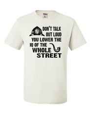 Lowest Price Yuandi 100 Cotton New Men T Shirt Don T Talk Out Loud You Lower The Iq Diy Short Tee White Intl