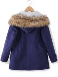 How To Buy Zanzea Fleece Faux Fur Coat Parka Hooded Trench Outwear Womens Winter Warm Thick Jacket