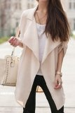 Discount Zanzea Hot Women Drape Front Loose Cardigan Chiffon Suit Blazer Jacket Khaki