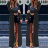 Best Zanzea Women Fashion Lace Crochet Long Sleeve Blouses Beach Open Kimono Cardigan Long Tops Plus Size Blusas Femininas Black Intl