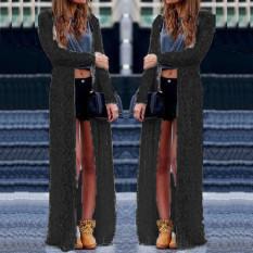 Buy Zanzea Women Fashion Lace Crochet Long Sleeve Blouses Beach Open Kimono Cardigan Long Tops Plus Size Blusas Femininas Black Intl Zanzea Online