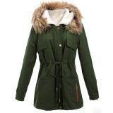 Shop For Zanzea Womens Winter Warm Thick Fleece Faux Fur Coat Jacket Parka Hooded Trench Outwear