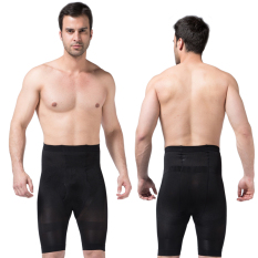 Price Zerobodys Male Body Sculpting Pants Five Pants Shaping Plastic Leg Pants Slim Fit In The Thin Breathable Abdomen Hip Plastic Leg Black Zerobodys China