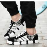 Zh Shopping Men Camouflage Leisure Fashion Canvas Shoes Black Intl Lowest Price