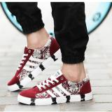 Buy Zh Shopping Men Camouflage Leisure Fashion Canvas Shoes Red Intl Oem Online