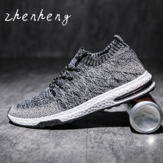 Who Sells Zhenheng 2017 Men Trend Breathable Flying Woven Shoes Net Yarnlow Running Shoes Black Intl