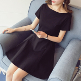 Top Rated Korean Style Summer New Style Slim Fit Princess Dress