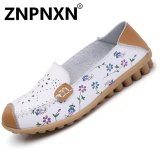 Sale Znpnxn Fashion Casual Shoes Shallow Mouth Round Flat Shoes White Intl Intl China