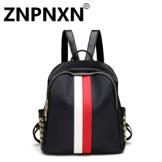 Best Buy Znpnxn Fashion Lady Burst Oxford Cloth Shoulder Bag Casual Bag Red And White Intl