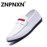 Recent Znpnxn Fashion Men S Shoes Driving Shoes Man S Slip Ons Loafers Fashion Comfortable Driving Casual Shoes White) Intl