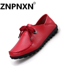 Compare Znpnxn Fashion Shoes Flat Shoes Soft Bottom Anti Skid Casual Shoes Women S Shoes Single Shoes(Red) Intl Prices