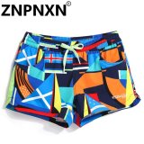 Best Offer Znpnxn Fashion Woman Beachwear Board Shorts Boxer Trunks Active Bermudas Women Swimwear Swimsuits Quick Dry Short Bottoms Casual Intl Intl