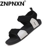Znpnxn Men S Sandals Summer Non Slip Sandals Men S Casual Shoes Sandals(Grey) Intl In Stock