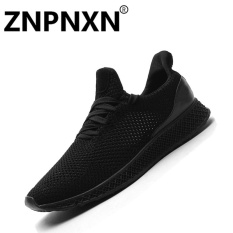 Discount Znpnxn Men S Sports Shoes Fashion Comfortable Casual Shoes Black) Intl China