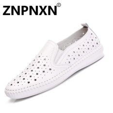 Sale Znpnxn Women S Shoes Fashion Casual Shoes Flat Loafers Shoes Lazy Shoes Mocassins Loafers(White) Intl Online China