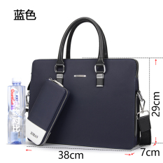 Price Comparisons For Zohan New Style Bag Business Portable Briefcase Blue