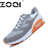 Get Cheap Zoqi Outdoor Sport Sneaker Breathable Men Running Shoes High Quality Grey Intl