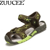 Zuucee Boys Fashion Casual Sandals Shoes Children Summer Comfortable Flat Shoes Green Intl Shopping