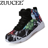 List Price Zuucee Boys High Top Fashion The Avengers Shos Children Shoes Black Intl Zuucee