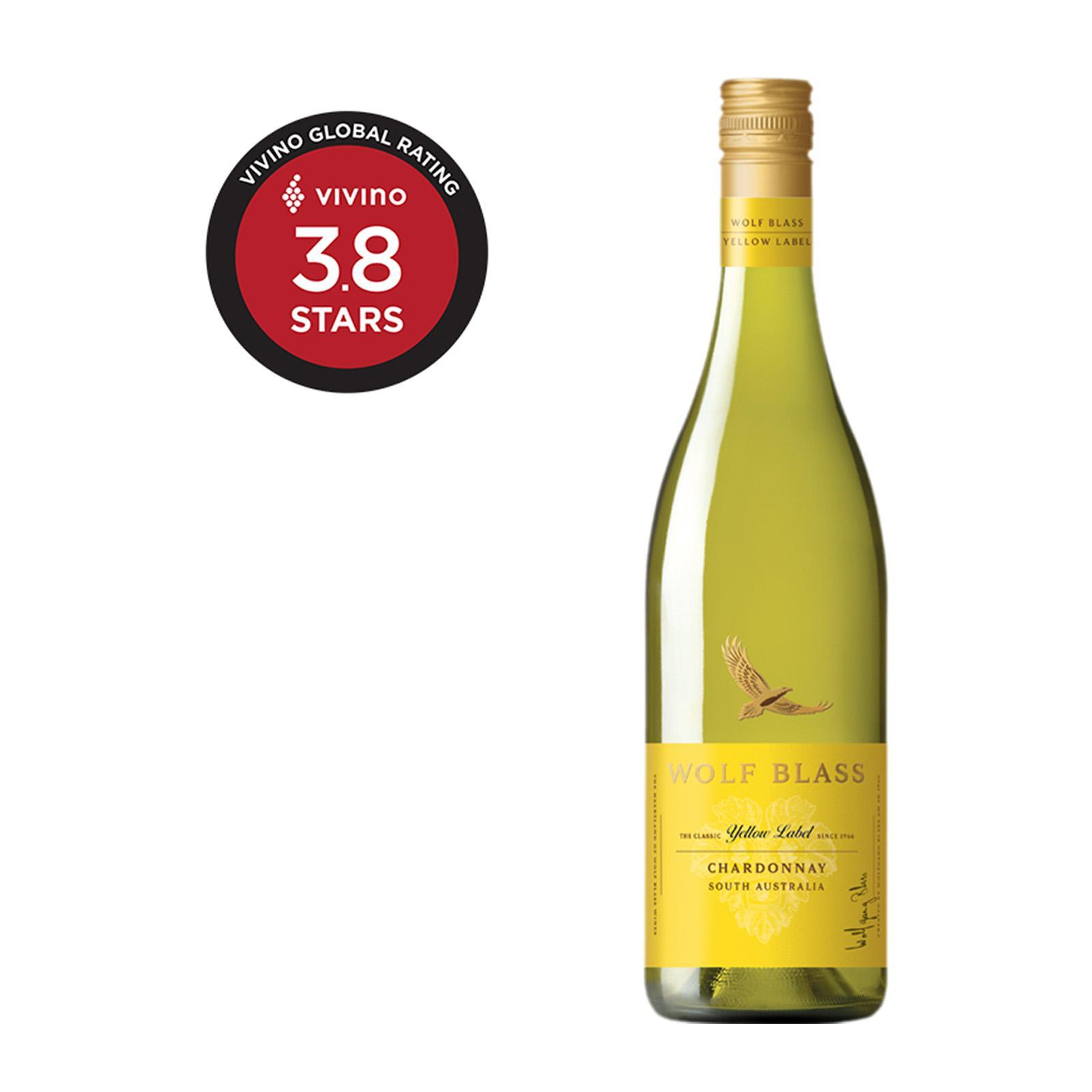 Wolf Blass Yellow Label Chardonnay Subtle White Wine