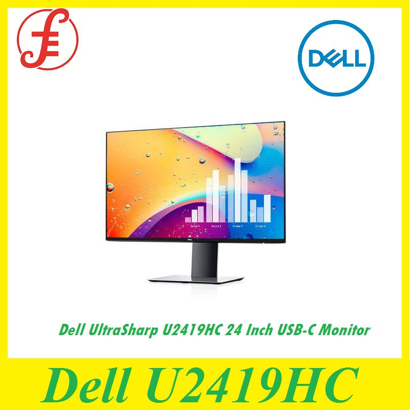 Dell UltraSharp U2419HC 24 Inch USB-C Monitor