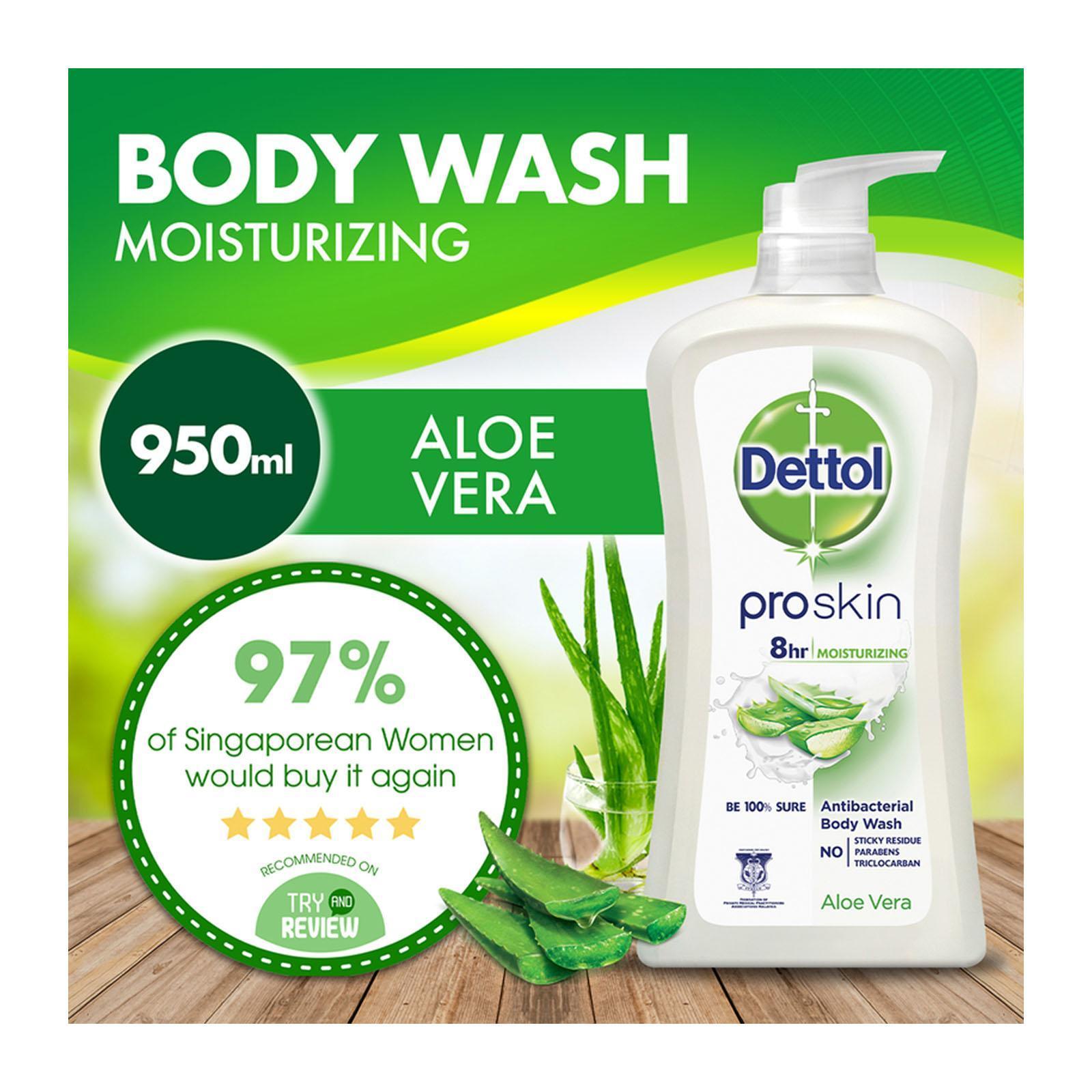 Dettol Pro Skin Aloe Vera Body Wash