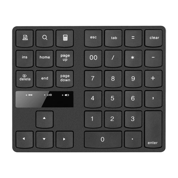 Bảng giá Wireless Numeric Keyboard 2.4Ghz 35 Key Rechargeable Portable Numeric Keypad for Financial Accounting Office Phong Vũ