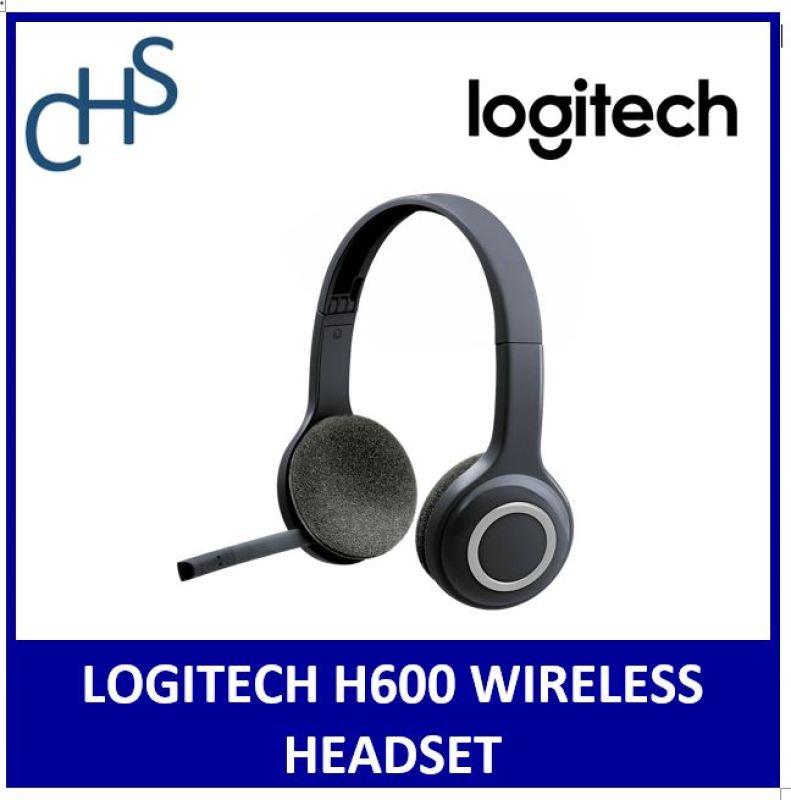Logitech H600 Wireless Headset (981-000504) 2 Years Warranty Singapore