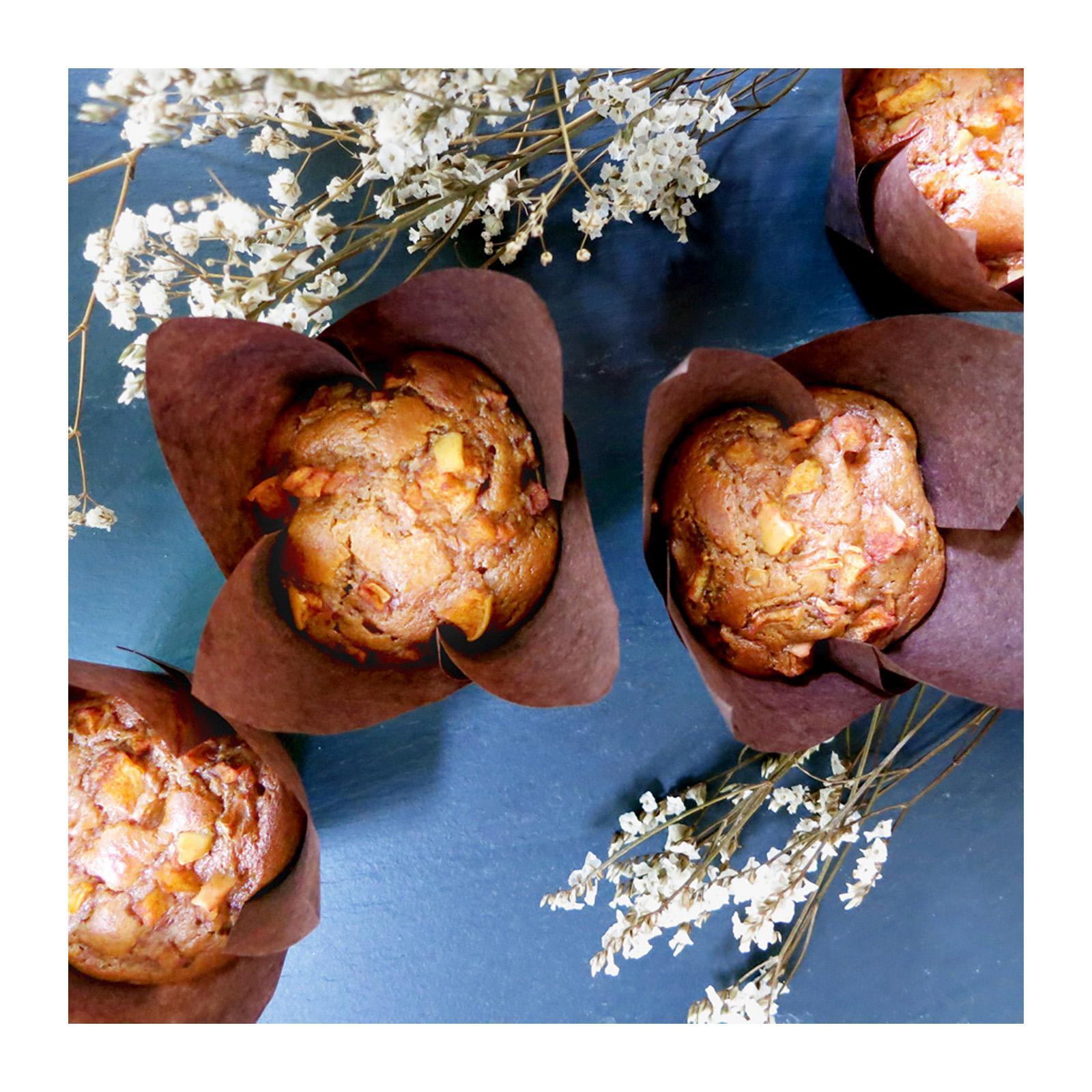 Bakening Flourless Apple Cinnamon Muffins (paleo) By Redmart.