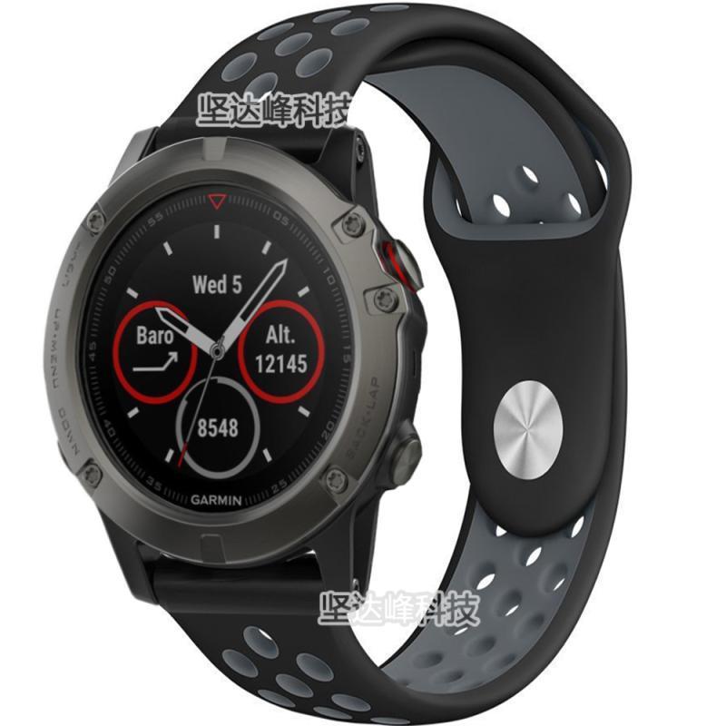 Garmin garmin Fenix3 3HR rilis cepat Silikon Tali jam tangan ketika terbang  5X plus Olah 8aedb9dd6f