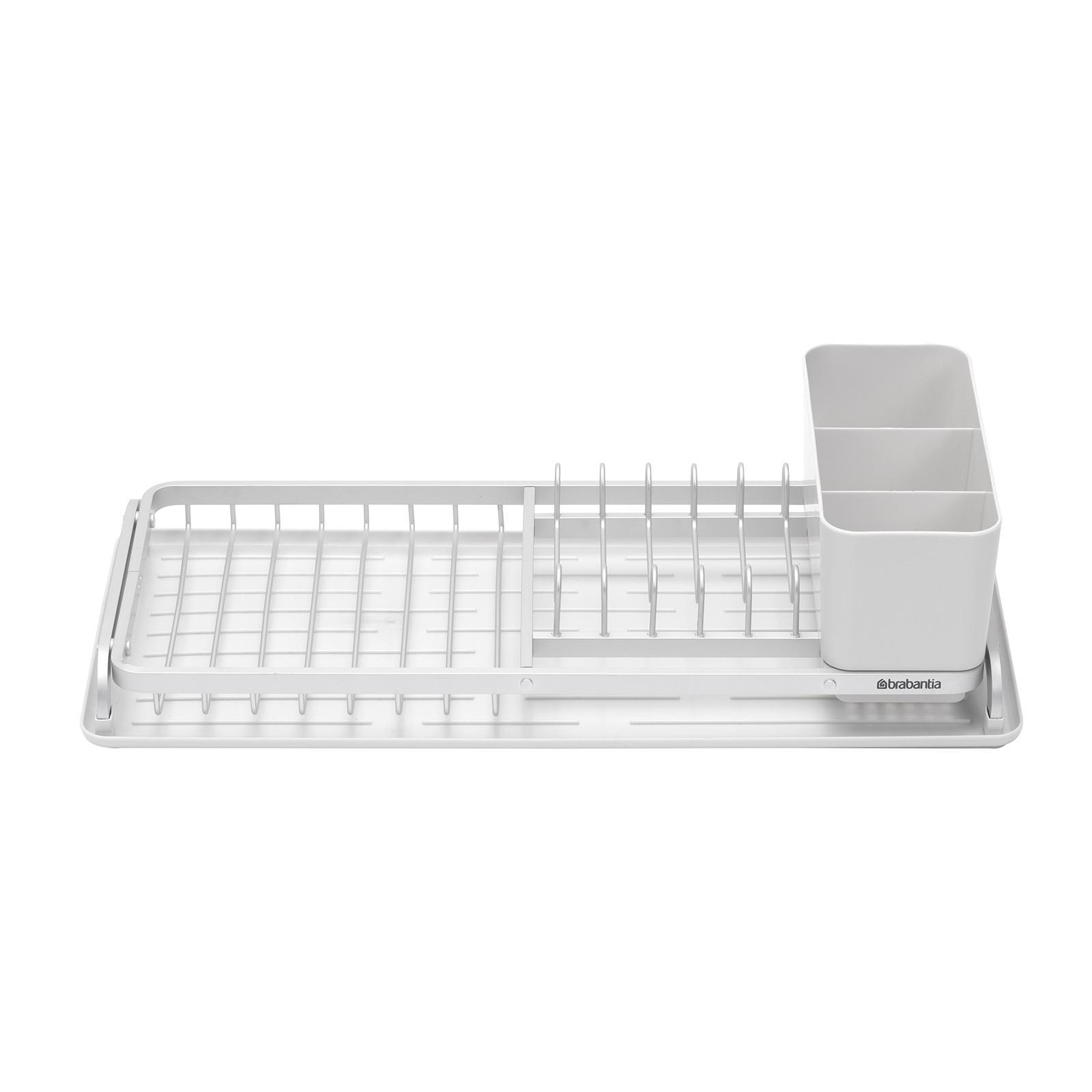 Brabantia Compact Dish Drying Rack - Light Grey