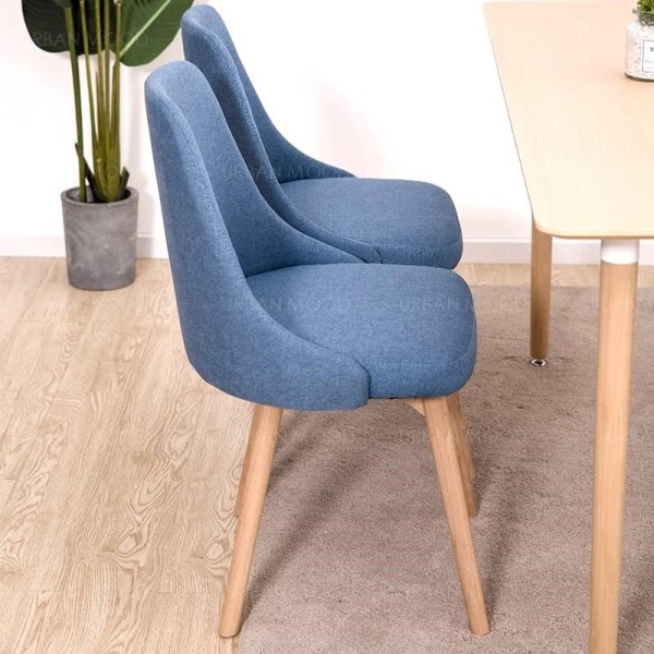 [Pre-Order] JIN Minimalist Japanese Fabric Dining Office Chair