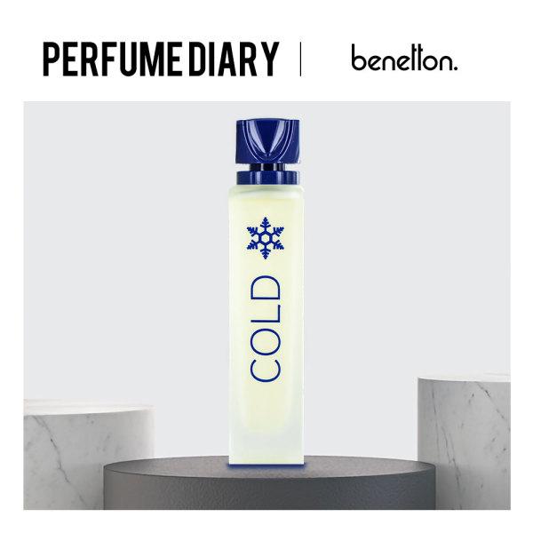 Buy Benetton Cold EDT 100ml (Unisex) - P.Diary Singapore