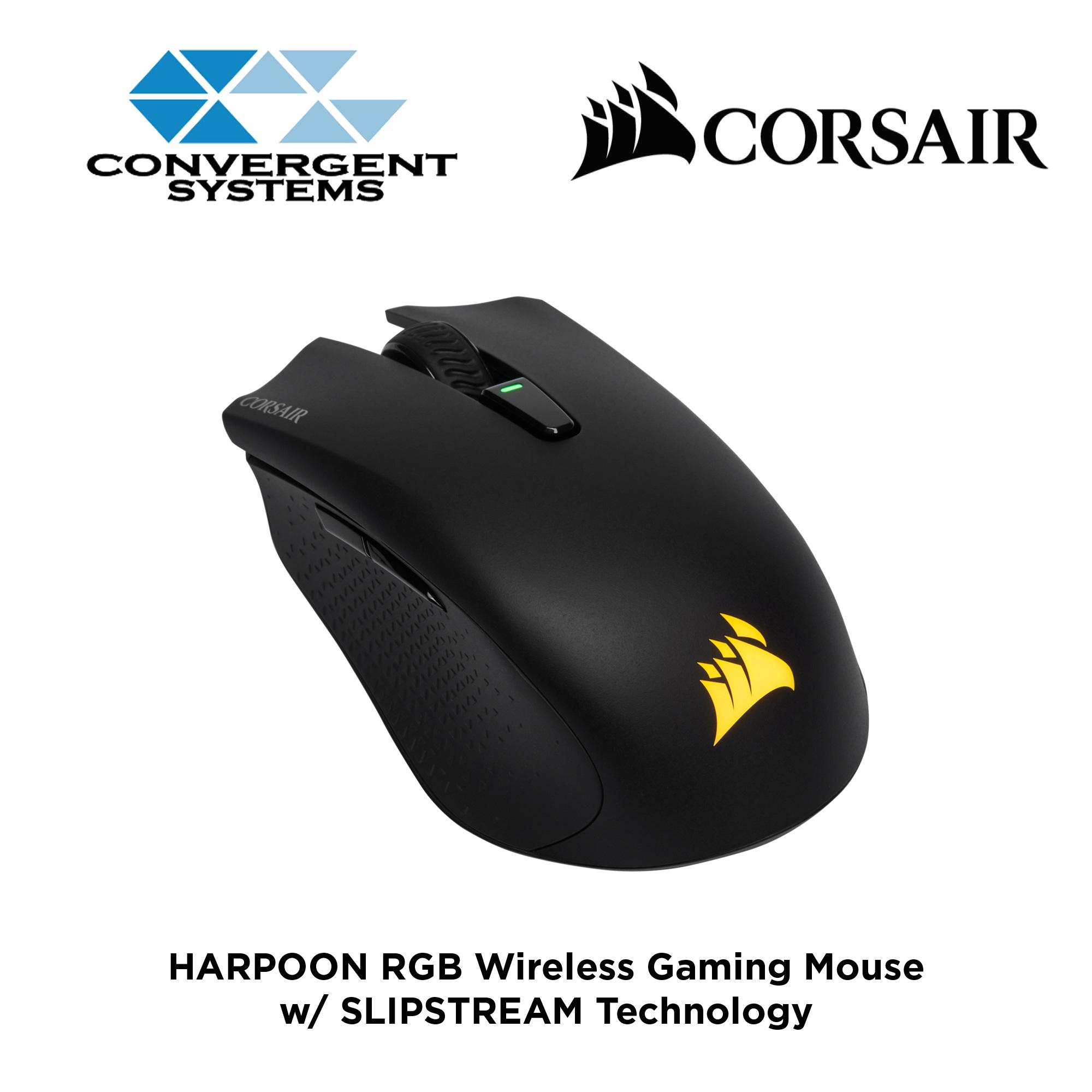 6d302a9cd89 Singapore. Corsair HARPOON RGB Wireless Rechargeable Gaming Mouse with SLIPSTREAM  Technology