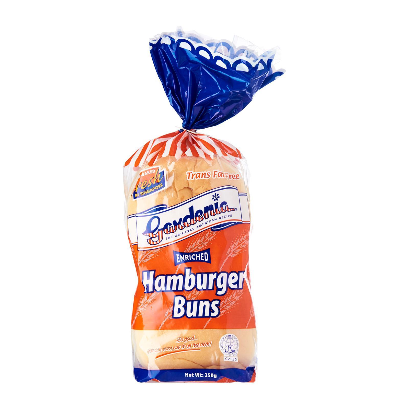 Gardenia Hamburger Buns 4s By Redmart.