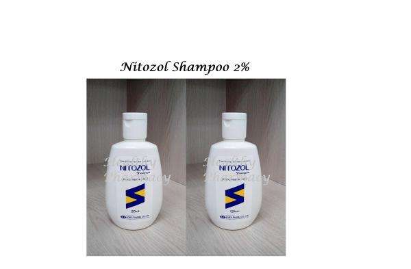 Buy Nitozol Shampoo 2% 120ml x 2 Singapore