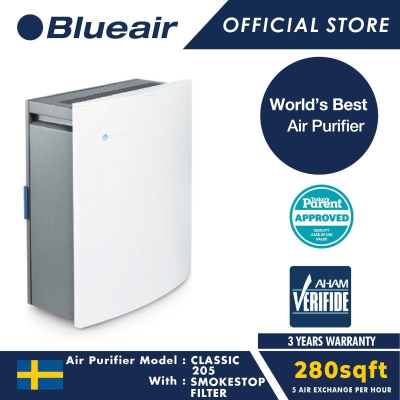 Blueair Air Purifier Classic 205 with SmokeStop Filter Singapore