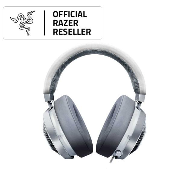 Razer Kraken — Multi-Platform Wired Gaming Headset (Mercury Edition)