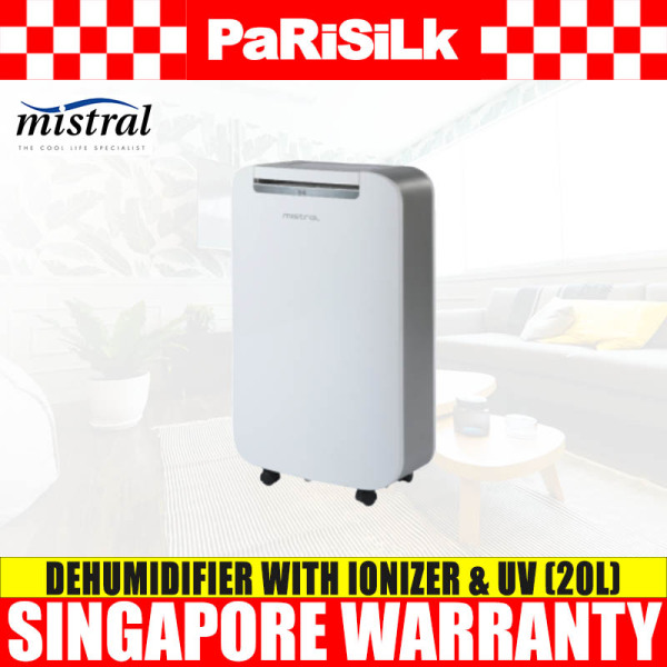 (Bulky) Mistral MDH200 Dehumidifier with Ionizer and UV (20L) Singapore